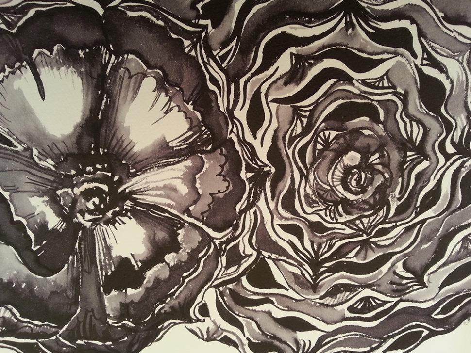 zela-bissett-black-and-white-bunya-cones